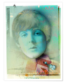 Poster  paul mccartney - Daniel Matzenbacher