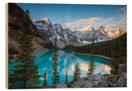 Matteo Colombo - Sunset over lake Moraine, Banff, Canada