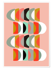 Poster  WHAT COLOR IS THE MOON II 01 - Susana Paz