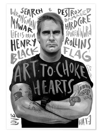 Poster henry rollins