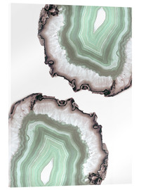 Verre acrylique  Light water agate - Emanuela Carratoni