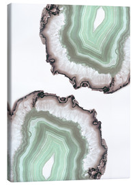 Toile  Light water agate - Emanuela Carratoni