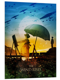 Forex  The Wind Rises Poster Lounge - Albert Cagnef