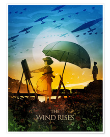 Poster  The Wind Rises Poster Lounge - Albert Cagnef