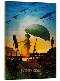 Albert Cagnef - The Wind Rises Poster Lounge