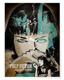 Poster  PulpFiction Poster Lounge - Albert Cagnef