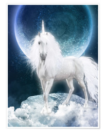 Poster Unicorn - Magicmoon
