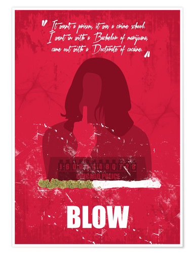 Poster Blow (anglais)