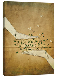 Tableau sur toile  Let's grow together - Sybille Sterk