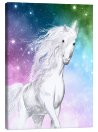 Tableau sur toile  Unicorn - Surprise - Dolphins DreamDesign