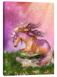 Toile  Unicorn - Love is Healing - Dolphins DreamDesign