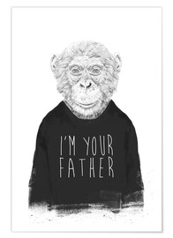 Poster  I'm your father - Balazs Solti