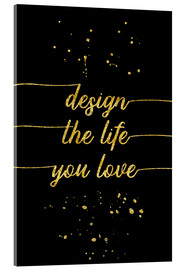 Melanie Viola - TEXT ART GOLD Design the life you love