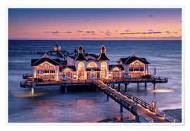 Poster  Sellin Pier - Tanja Arnold Photography