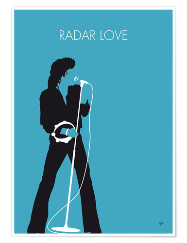 Poster Golden Earring, Radar Love