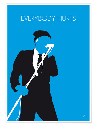 Poster R.E.M. Everybody Hurts