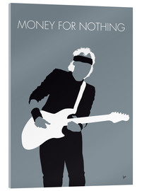 Verre acrylique  Mark Knopfler, Money for nothing - chungkong