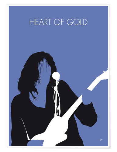Poster Neil Young, Heart Of Gold