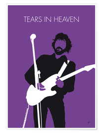 Poster Eric Clapton, Tears in heaven