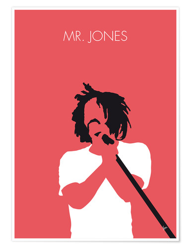 Poster Counting Crows, Mr. Jones