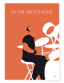 Poster Phil Collins, In the air tonight