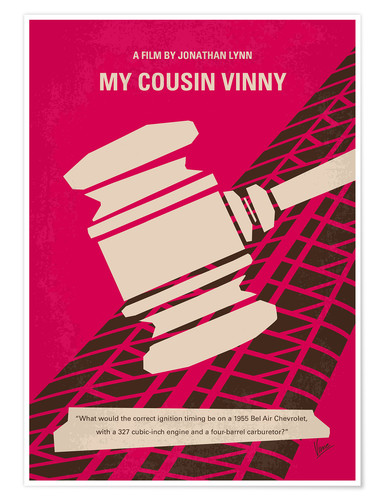 Poster My Cousin Vinny (anglais)