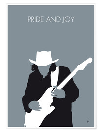Poster Stevie Ray Vaughan, Pride And Joy