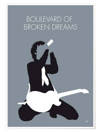 Poster Green Day, Boulevard of broken dreams