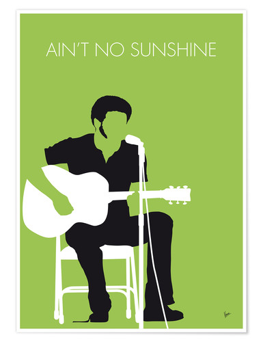Poster Bill Withers, Ain't No Sunshine