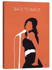 Tableau sur toile  Amy Winehouse, Back to black - chungkong