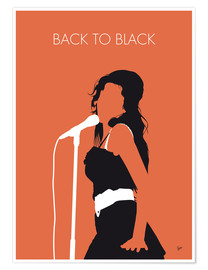 Poster  Amy Winehouse, Back to black - chungkong