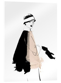 Verre acrylique  20s Fashion Illustration - Wadim Petunin