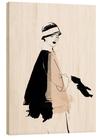 Bois  20s Fashion Illustration - Wadim Petunin