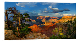 Tableau en verre acrylique  Grand Canyon idyllique - Michael Rucker