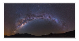 Poster southern Milky Way