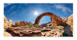 Poster Rainbow Bridge, Lake Powell, USA
