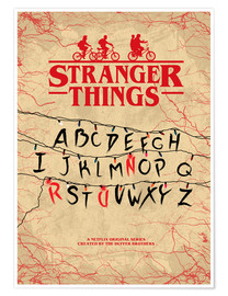 Poster  Stranger Things (anglais) - HDMI2K