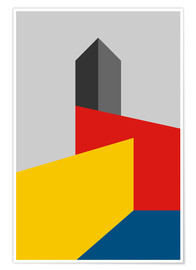 Poster  Tour du Bauhaus - THE USUAL DESIGNERS