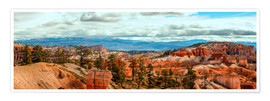 Poster Bryce Canyon Panorama