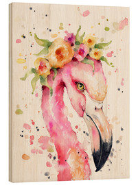 Bois  Petit flamant rose - Sillier Than Sally
