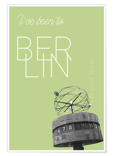 Poster I've been to Berlin