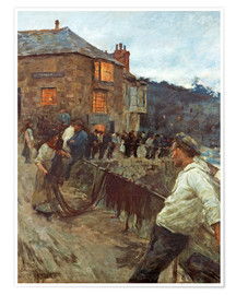 Poster  Le quai de Newlyn - Stanhope Alexander Forbes
