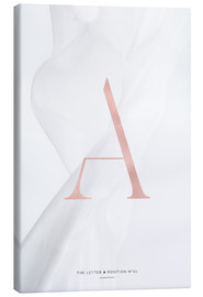 Toile  ROSE GOLD LETTER COLLECTION A - Stephanie Wünsche
