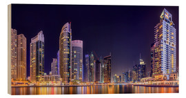 Bois  Panoramic view - Dubai Marina Bay