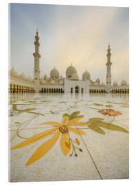 Verre acrylique  Courtyard of Sheikh Zayed Grand Mosque