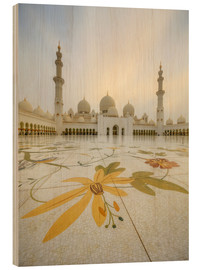 Bois  Courtyard of Sheikh Zayed Grand Mosque