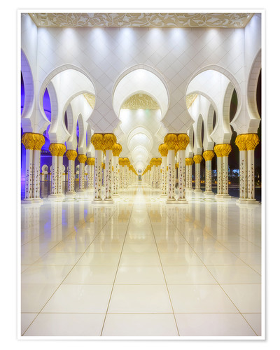 Poster Sheikh Zayed Grand Mosque