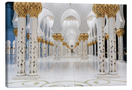 Toile  famous Sheikh Zayed mosque