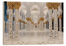 Bois  famous Sheikh Zayed mosque
