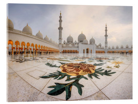 Verre acrylique  Place of the Sheikh Zayed Grand Mosque